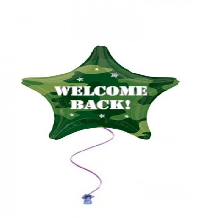 """Welcome Back Army 18"""" Foil"""