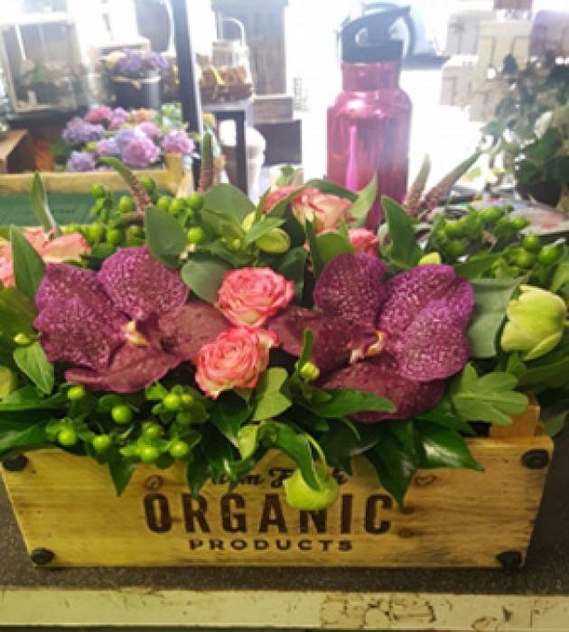 Luxury Flower Crate