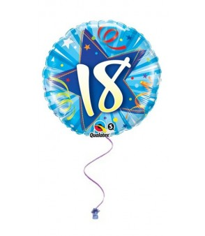 "18th Birthday Blue 18"" Foil"