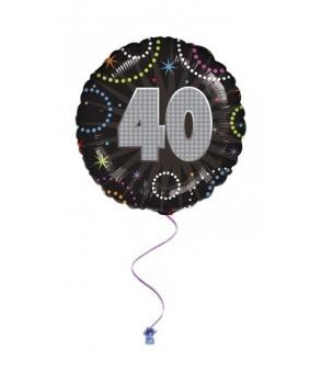 "40th Time To Party 18"" Foil Balloon"
