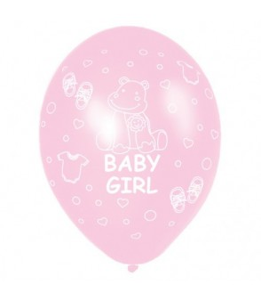 Baby Girl Latex Balloon €3 per balloon