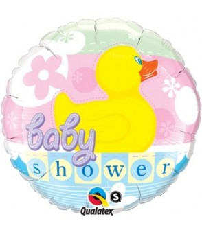 Baby Shower Duck 18 Foil Balloon