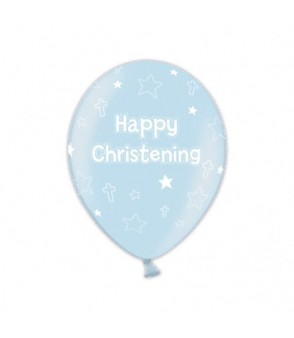 Christening latex balloon blue €3 per balloon