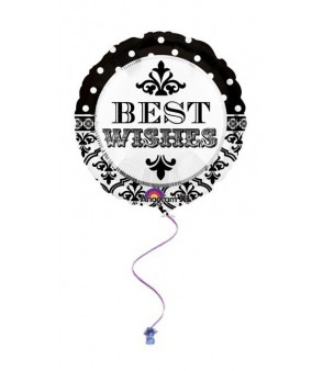 "Best Wishes 18"" Foil"