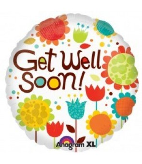Cheery Flowers Get Well