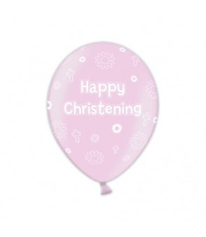 Christening latex pink €3 per balloon