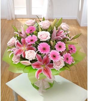 Lillies, Rose & Gerbera