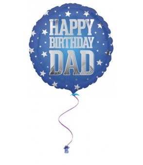 Happy Birthday Dad Super Star Foil