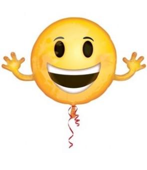 Emoticon SuperShape Balloon 39x23in