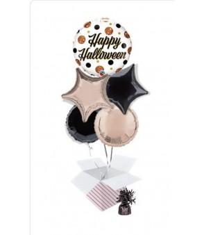 Happy Halloween Balloon Bouquet (5 Balloons)