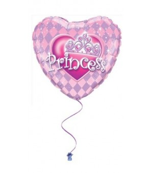 "Happy Birthday Princess 18"" Foil Balloon"
