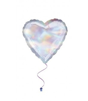Heart- Iridescent Heart 18''