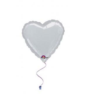 Heart - Silver 18''
