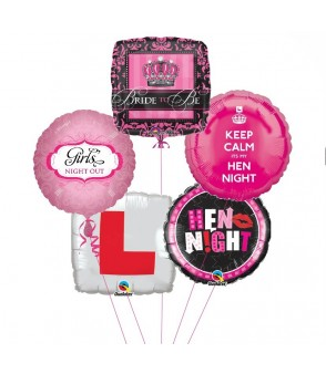 Hen Night Balloon Bouquet