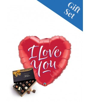 "I Love You Script 18"" Foil Balloon"