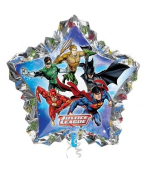 Justice League SuperShape Balloon 34x32in