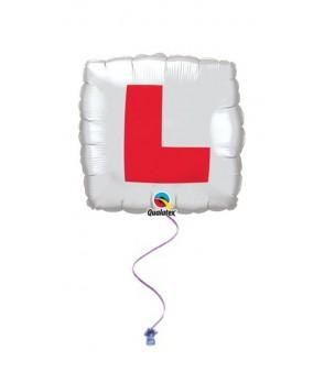 """L Plate 18"""" Foil"""
