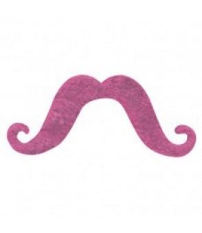 Moustache Pink