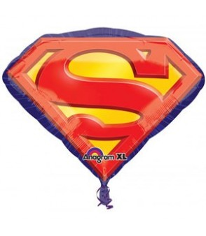 Superman Emblem SuperShape Balloon 26 x 20