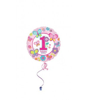 Sweet Birthday Girl Foil Balloon 18in