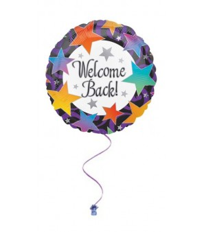 "Welcome Back 18"" Foil Balloon"
