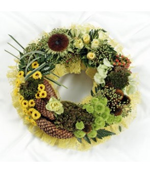 Textured Wreath