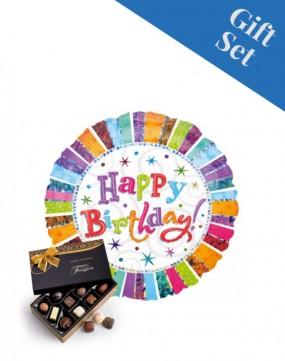 Happy Birthday Radiant Balloon