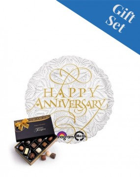 Lacey Happy Anniversary Foil Balloon